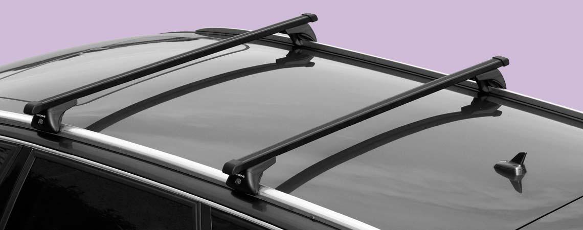 In-Rail Steel, coppia barre portatutto in acciaio