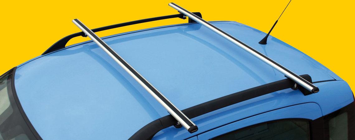 Kuma, coppia barre portatutto in alluminio