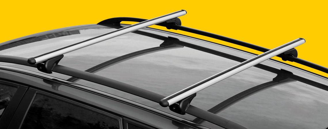 Rail-Pro, coppia barre portatutto in alluminio