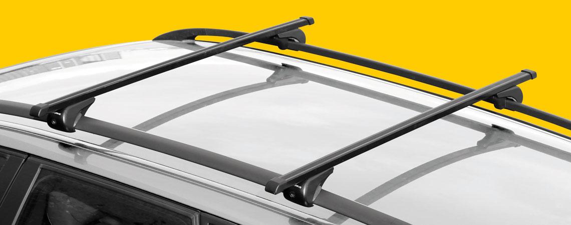 Rail-Top, coppia barre portatutto in acciaio