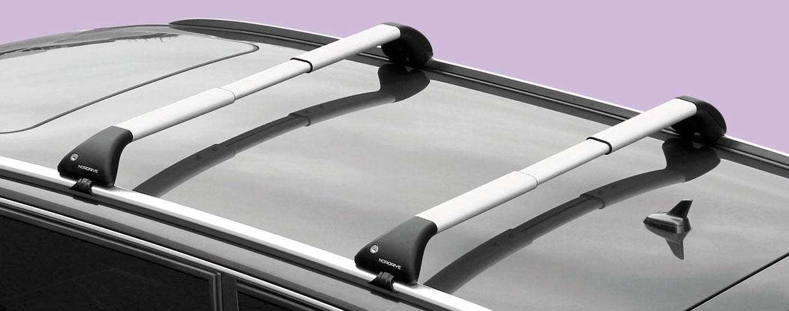 Snap Alu, coppia barre portatutto telescopiche in alluminio