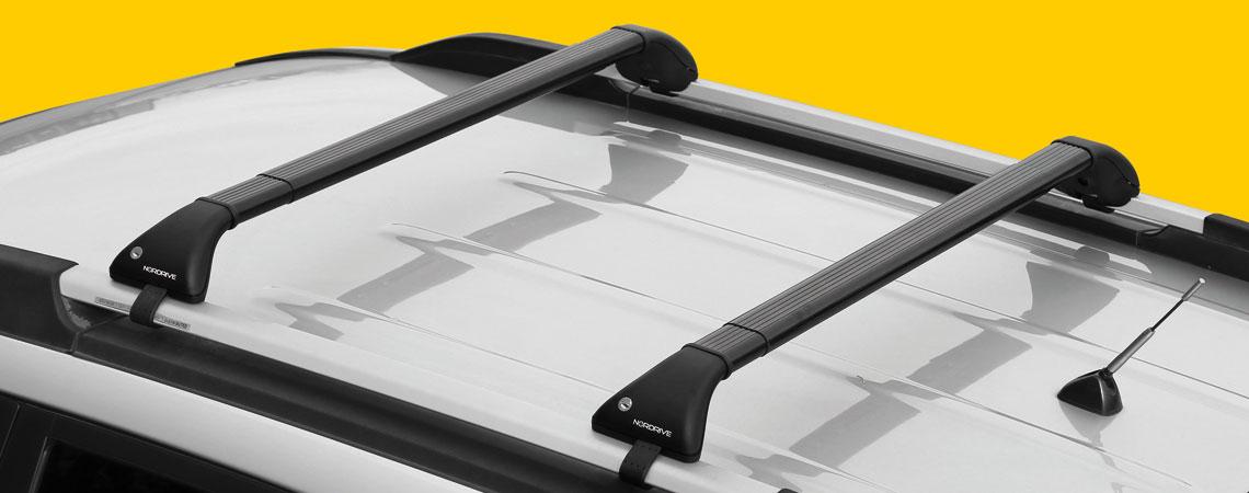Snap-Fit Steel, coppia barre portatutto telescopiche in acciaio