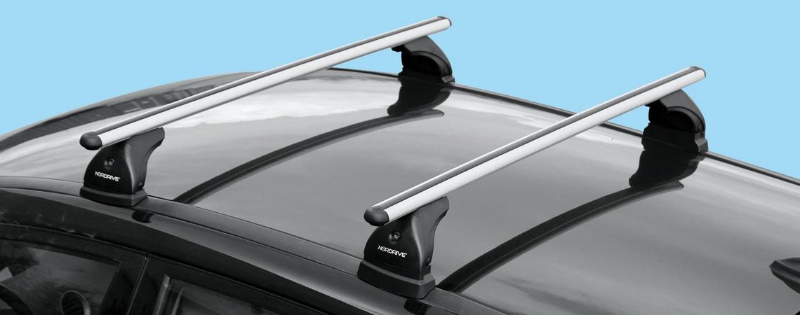 Alumia, coppia barre portatutto in alluminio